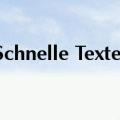 Werner Markowitz schreibt schnelle Texte